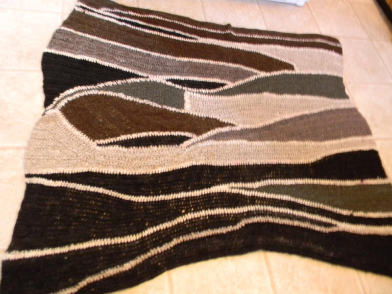 Caledonia alpaca crochet afghan_1_1