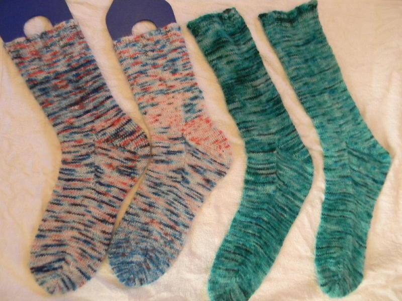 Finished solar dyed socks_1_1