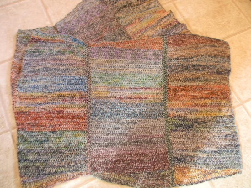 Diagonal afghan sock yarn_1_1